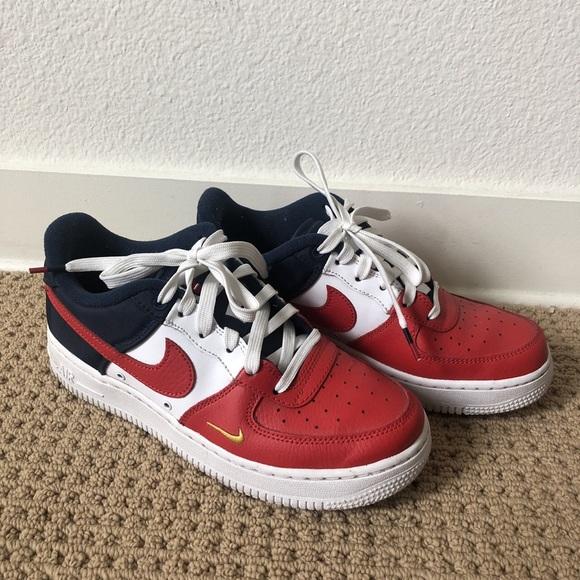 Nike Air Force 1 Red White   Blue. M 5b97d260a5d7c69fc7967c92 e420bdc80d